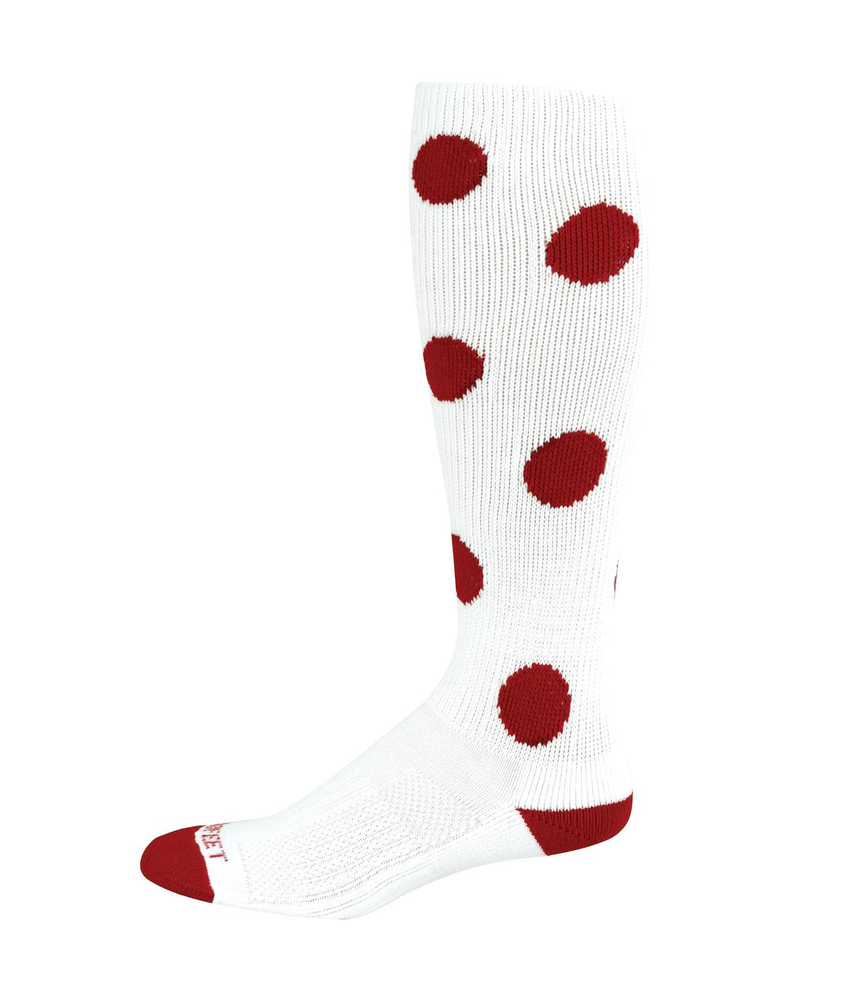 PRO FEET DOT KNEE HIGH SOCK