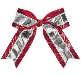 Chasse Metallic Hair Bow