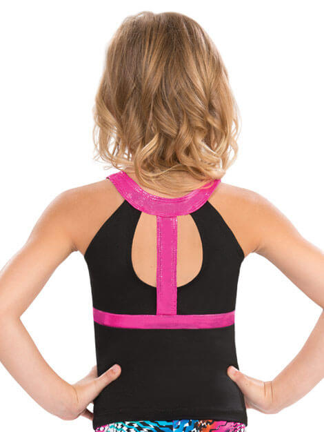 GK CUT OUT Y BACK LONG TOP