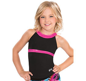 GK Elite Cut Out Y Back Cheer Long Top