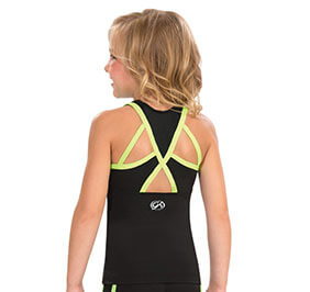 GK Elite Bound Key Hole Back Cheer Top