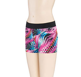GK Elite Print Passion Cheerleading Shorts