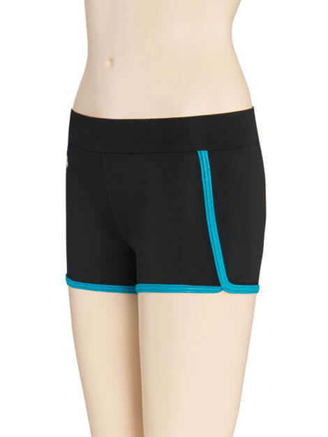 GK Elite Opal Trim Cheerleading Shorts