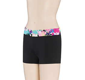 GK Elite Print Passion Waistband Cheer Shorts