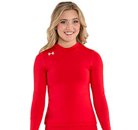 Under Armour Stock Mock Neck Cheer Liner