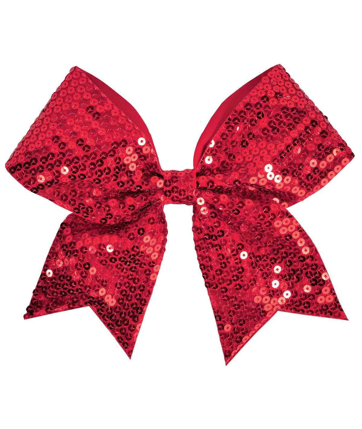 Chasse Sequin Performance Hair Bow