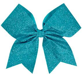 GLITTER PERF HAIR BOW
