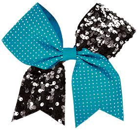 Chasse Rhinestone And Sequin Performance Hair Bow