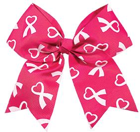 CHASSE CHEER FOR THE CAUSE RIBBON HAIR BOW