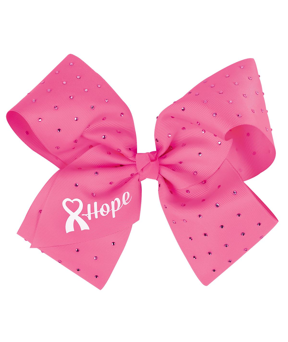 CHASSE CHEER FOR THE CAUSE HOPE CHEER BOW