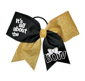 Bow love performance hair bow