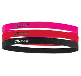 CHASSE COLORED SPORT HEADBAND PACK