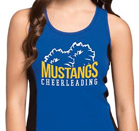 2-Color Cheer Tank