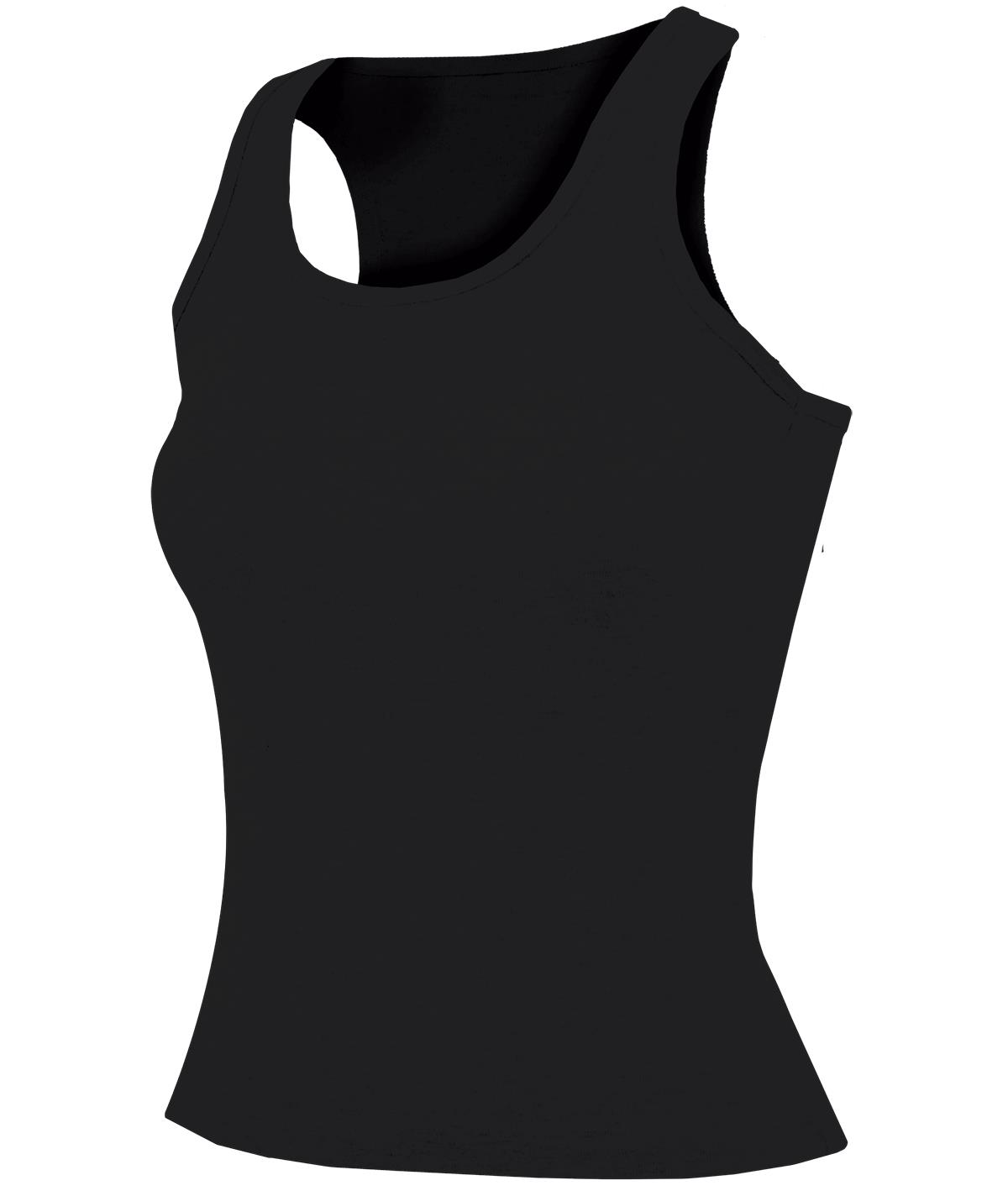 Fitted Racer Back Tank