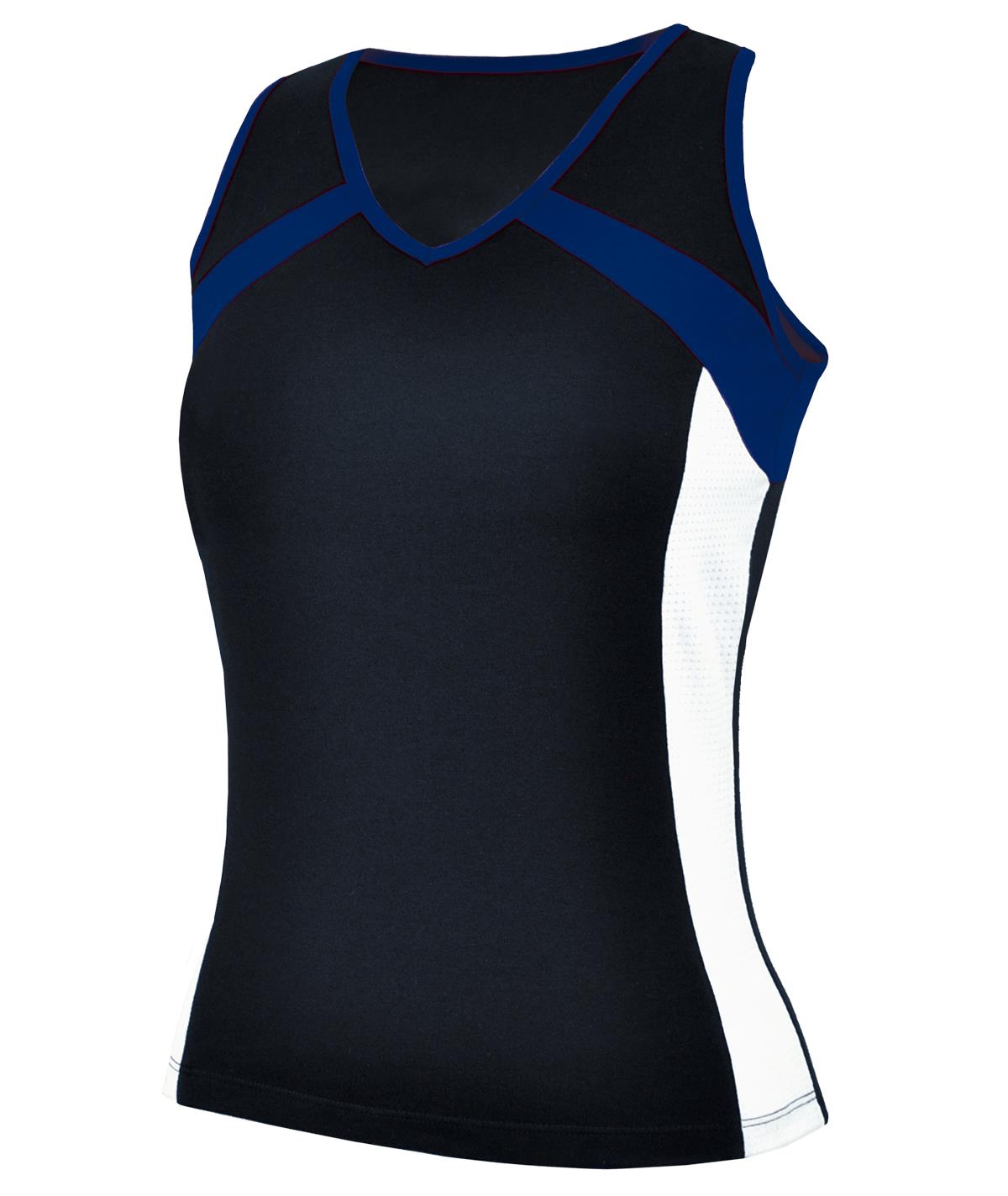 Multi Color Performance Racer Back Tank