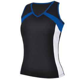 MULTI COLOR PERF RACER BACK TANK