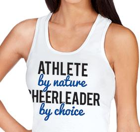 Cheerleader By Choice Tank