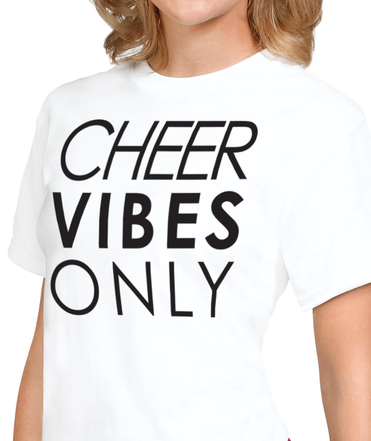 Cheer Vibes Only Tee