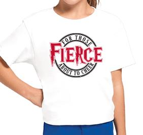 FIERCE CHEER TEE
