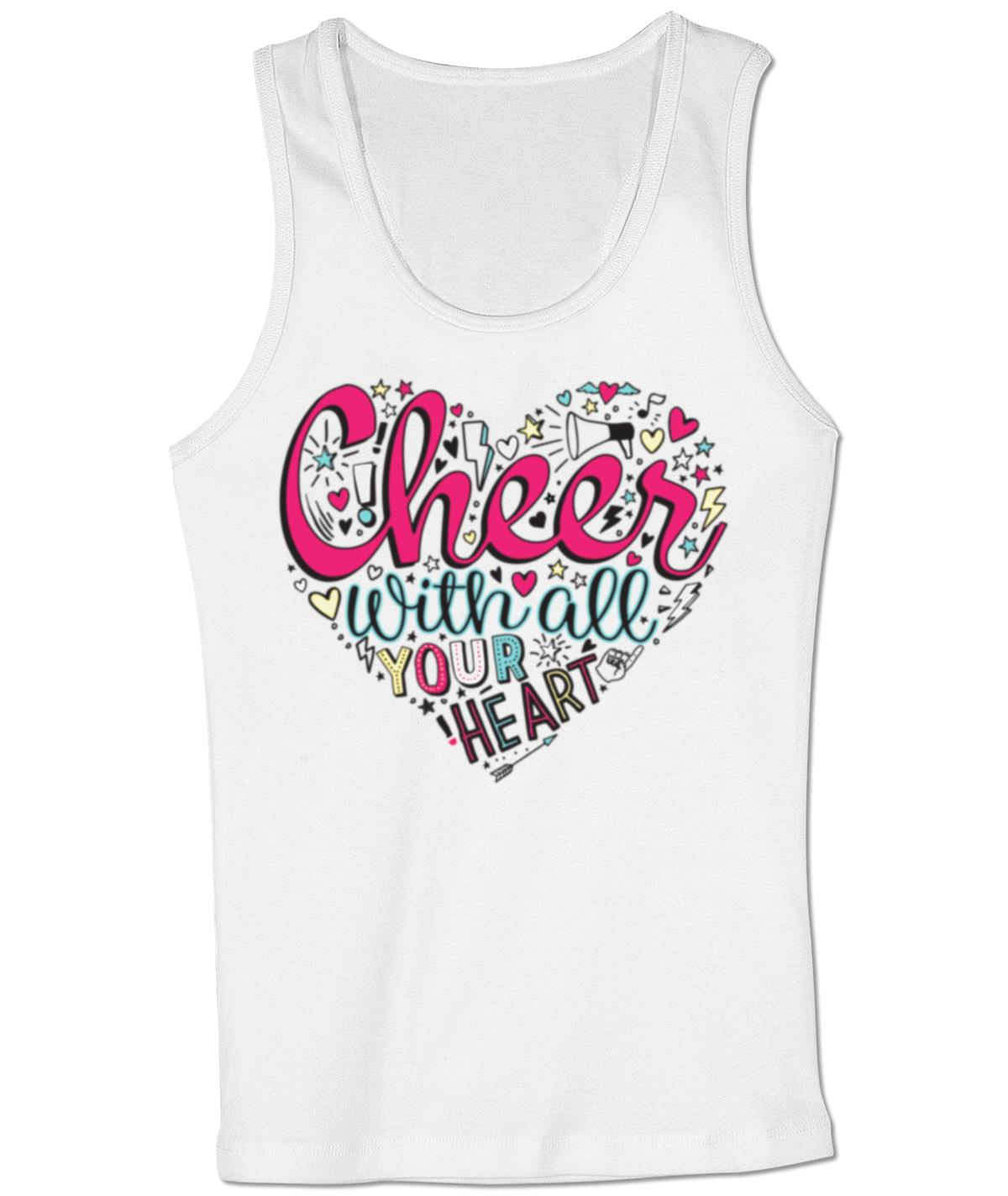 CHEER WITH ALL YOUR HEART TANK