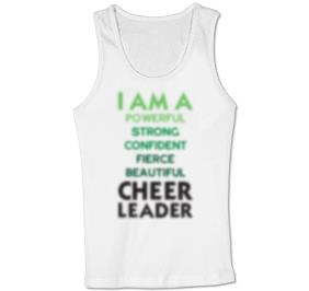 CHEERLEADER MANTRA TANK