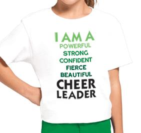 CHEERLEADER MANTRA TEE