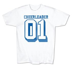 #1 CHEERLEADER TEE