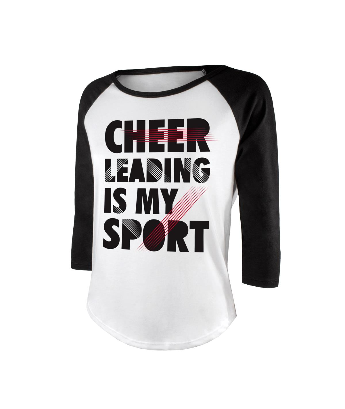 Cheerleading Is My Sport Loose Fit Raglan