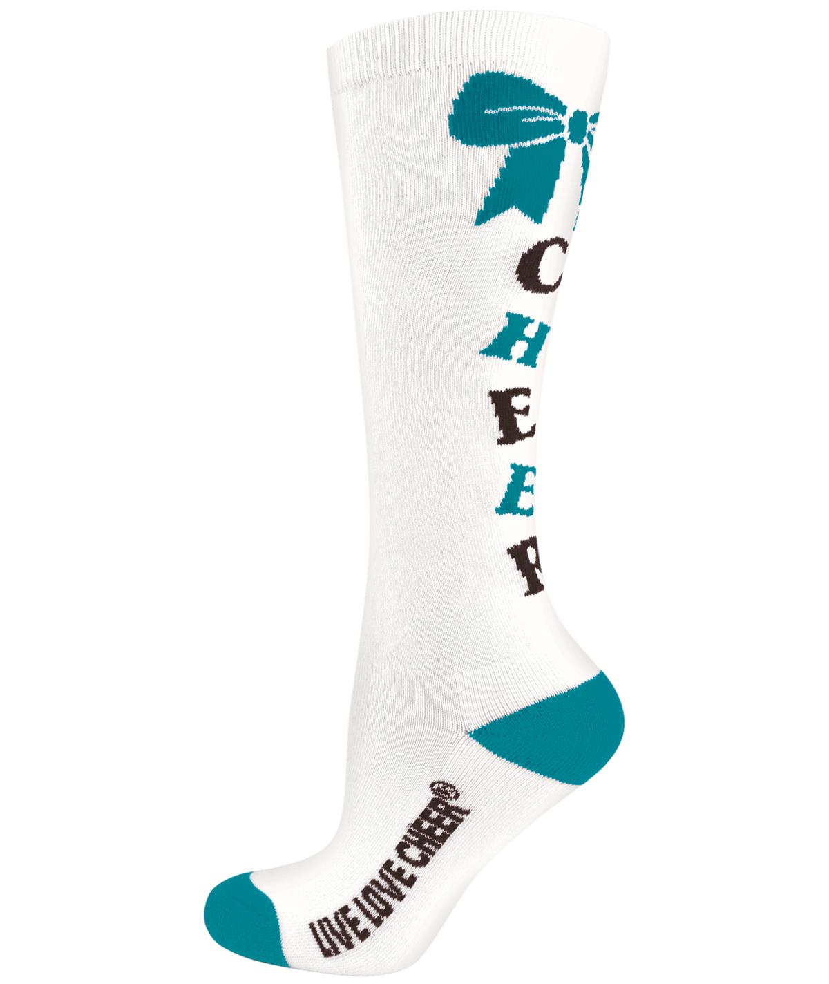 Chasse Knee-High Bow Sock