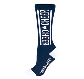 Chasse Knee High Cheer Sock