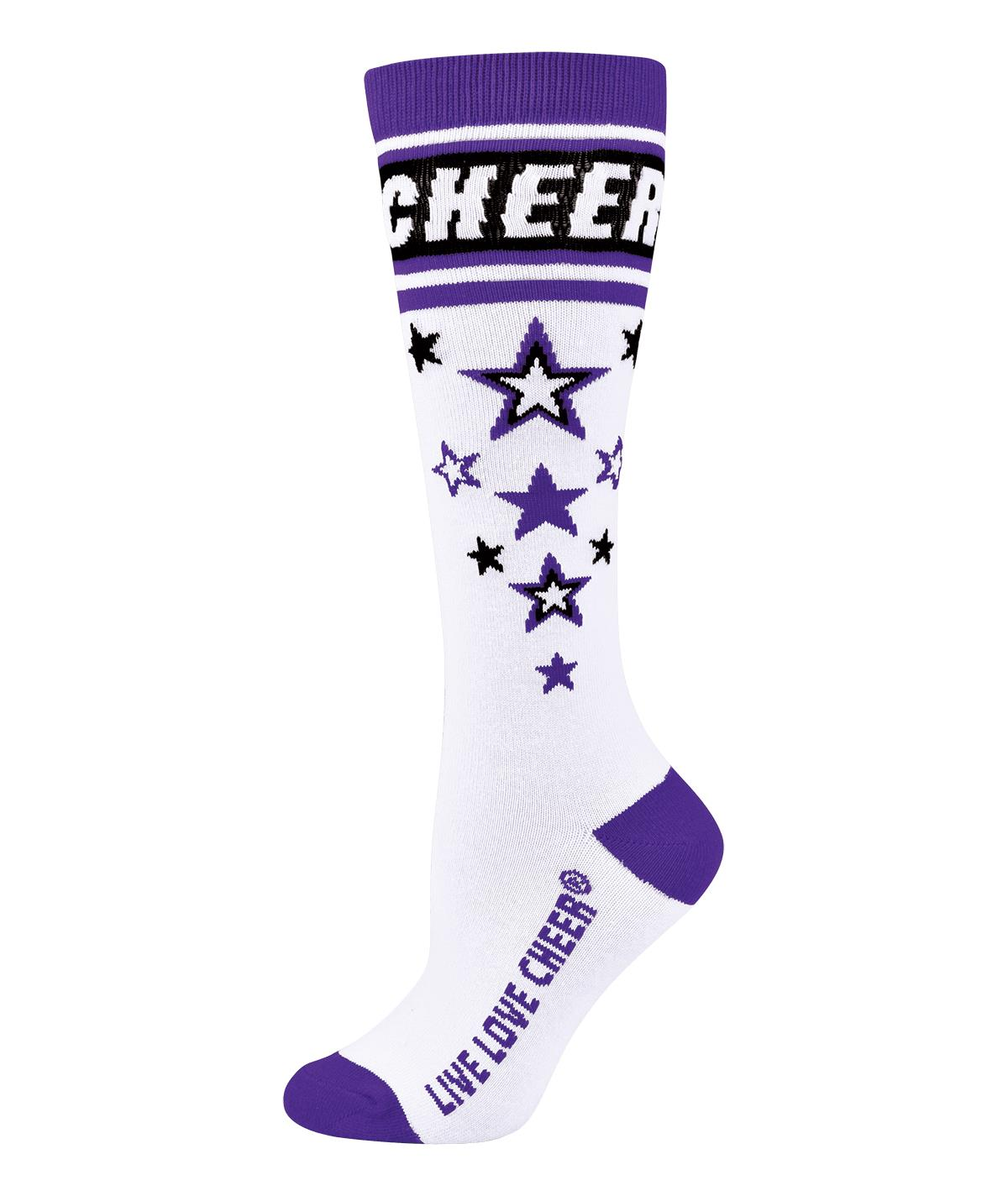 Chasse Knee-High Star Struck Sock
