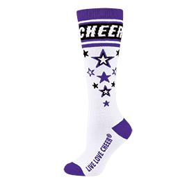 Chasse Knee High Star Struck Sock