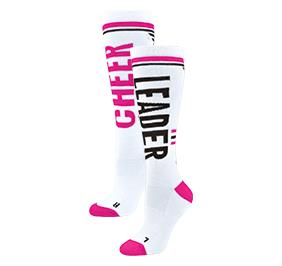 Chasse Knee High Cheer Mix Sock