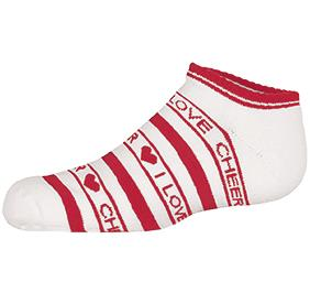 Chasse Low Anklet Sock With Stripes