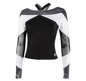 All Star Cheerleading Off The Shoulder Top