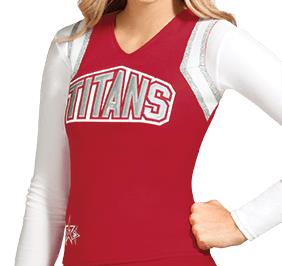 ION Cheer Aspiration Uniform Shell Top
