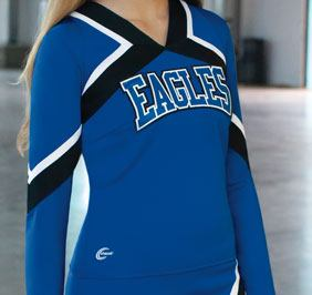 Racerback sideline uniform shell top