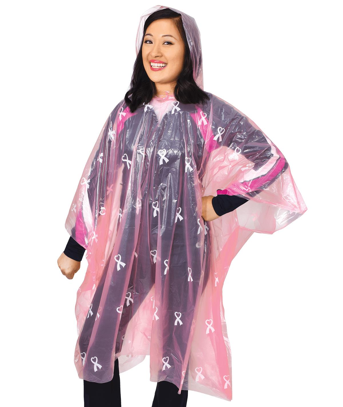 Chassé Cheer For The Cause Rain Poncho