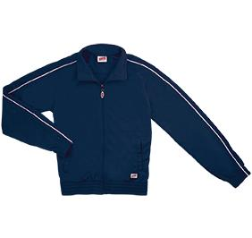 Soffe Poly Tricot Knit Jacket