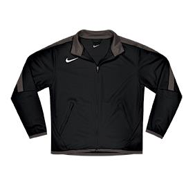 Athletic warmup jacket for training