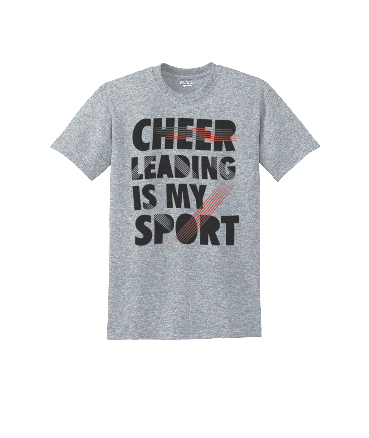 Chasse Cheer Is My Sport Tee